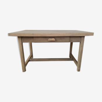 Oak farm or workshop table