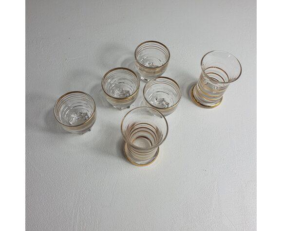 Ensemble de 6 verres à alcool, verres à shot