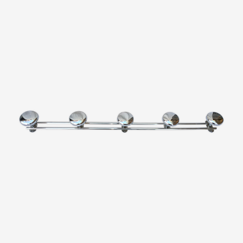 Chrome coat rack