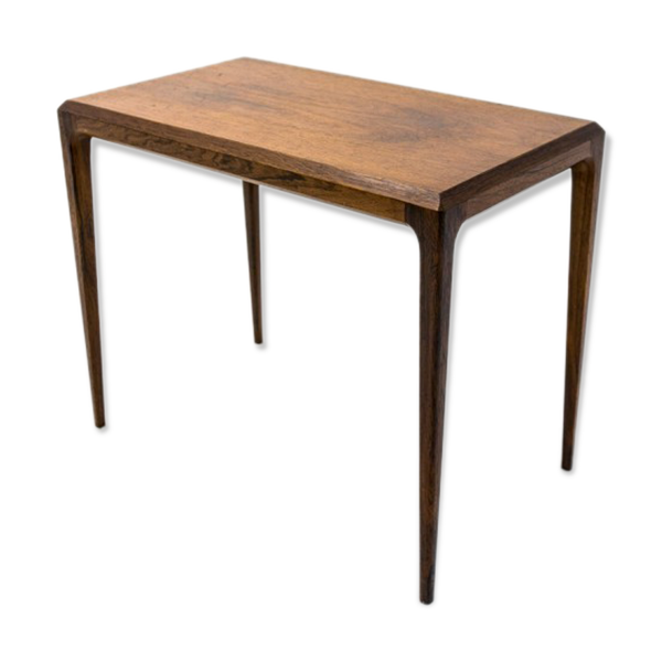 Selency Table basse en palissandre de Johannes Andersen éditions Silkeborg, années 1960
