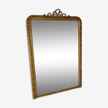 Miroir au mercure Napoléon III - 186x125cm