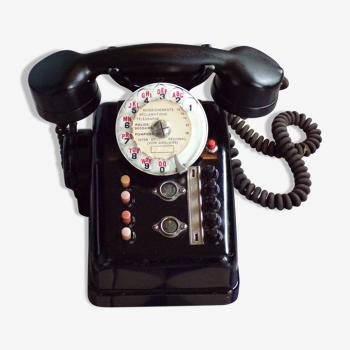 Téléphone vintage de standard
