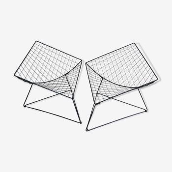 """Paire de fauteuils """"Oti"""" par Niels Gammelgaard, années 80"""
