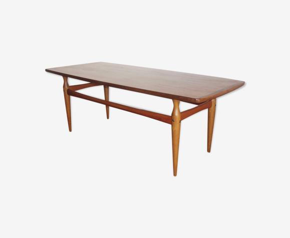 Table basse scandinave d'Alberts Tibro années 1960