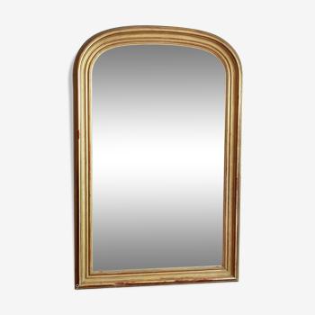 Miroir doré époque Louis Philippe - 157x103cm