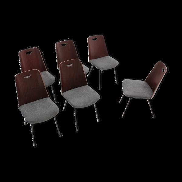 Selency Du22 chaises par Gastone Rinaldi pour Rima 1950s