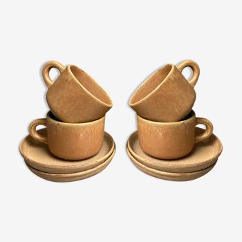 Vintage sandstone cups