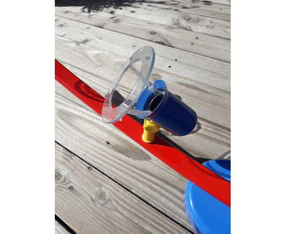 Plafonnier enfant vintage 4 spots orientables couleurs primaires - 1980