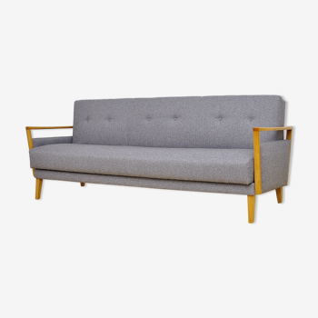Mid century 3 seat sofa bed from the 60's