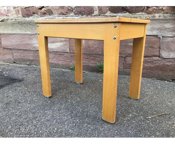 Bureau & chaise enfant école maternelle  vintage
