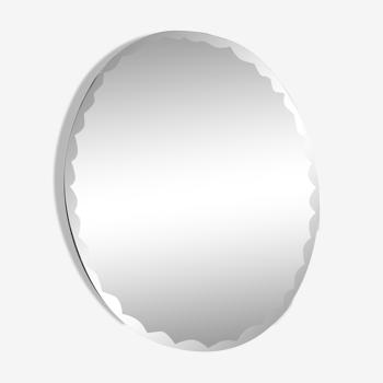 Miroir biseauté 35x26cm