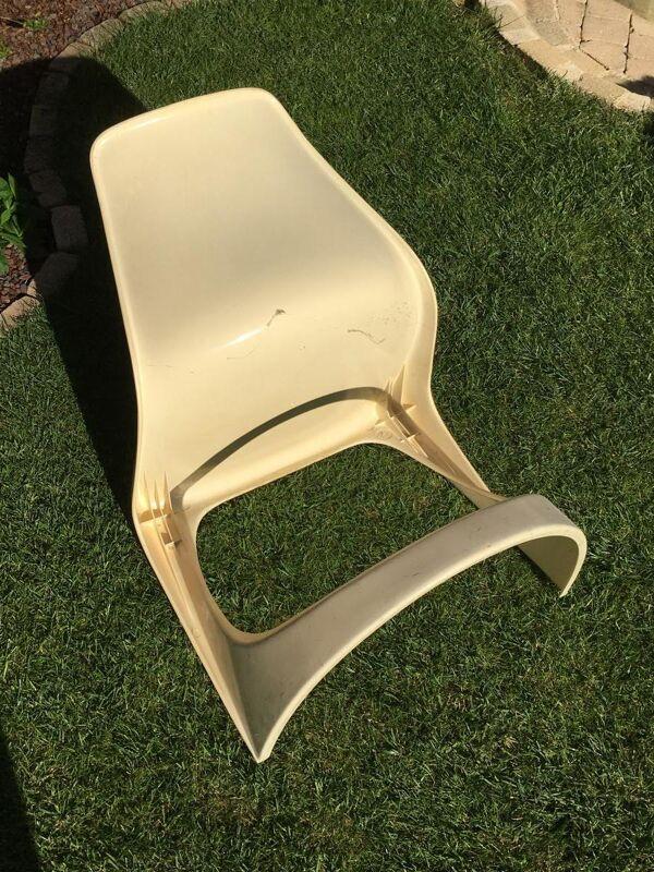 Paire de chaises Cado vintage Steen Ostergaard 1970