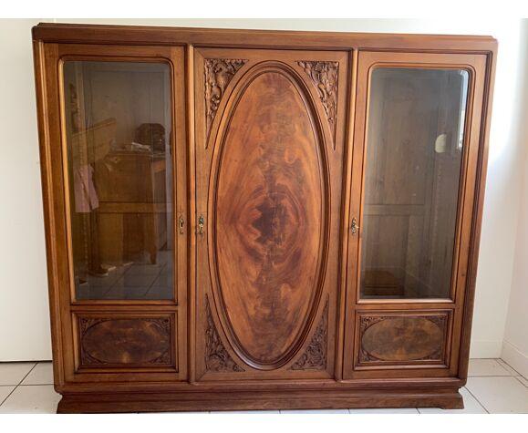 Armoire vitrine Majorelle art nouveau