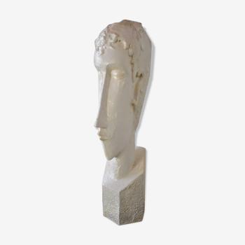Buste de plâtre