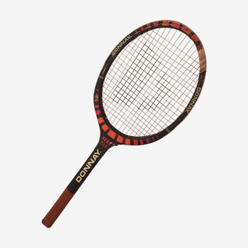 Raquette tennis géante Donnay Borg Pro en bois all wood
