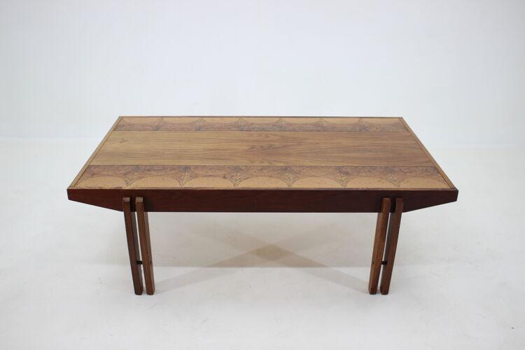 Table basse palissandre des années 1960, Danemark