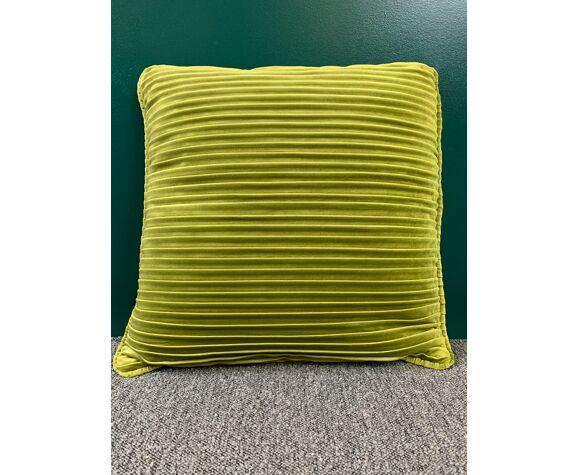 Coussin vert 45x45cm