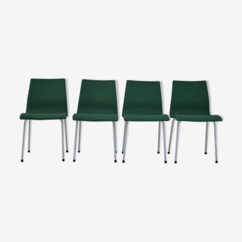 Suite de 4 chaises de René-Jean Caillette pour Groupe IV édition Charron