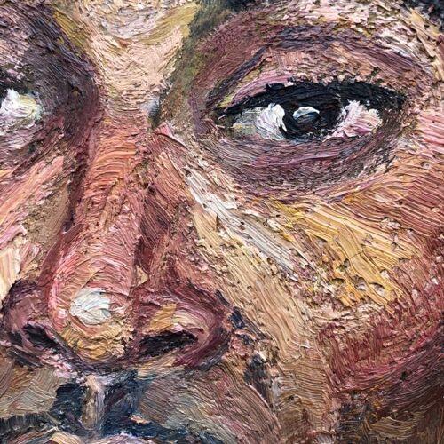 """Tableau """"portrait d'un gaucho"""""""