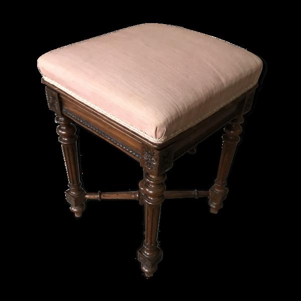 Tabouret de piano Louis XVI