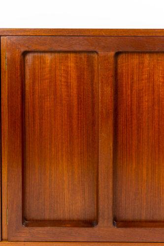 Enfilade à quatre portes en teck, années 1970