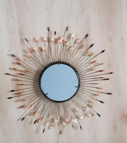 Miroir soleil en métal 67cm