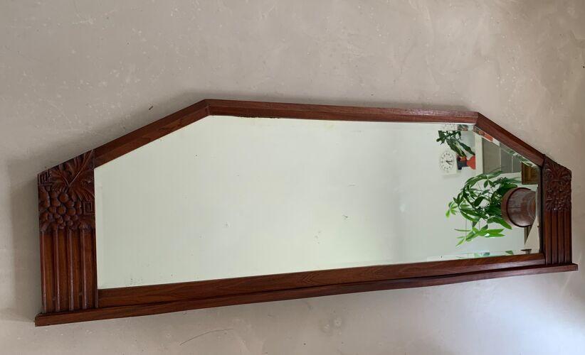 Miroir buffet Art Déco 158cm
