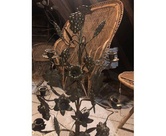 Chandelier candélabres ancien