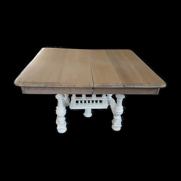 Table à manger en chêne clair rectangle