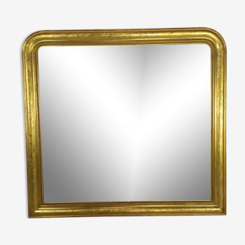 Miroir doré Louis Philippe - 117x125cm