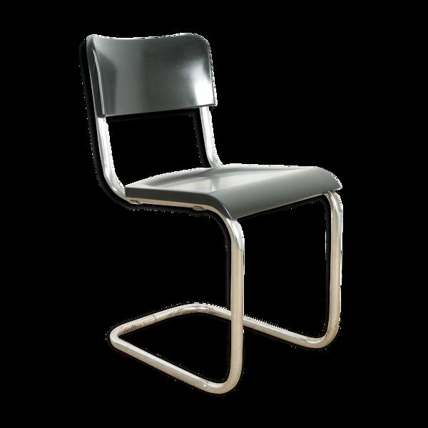 Selency Chaise tubulaire en bakelite