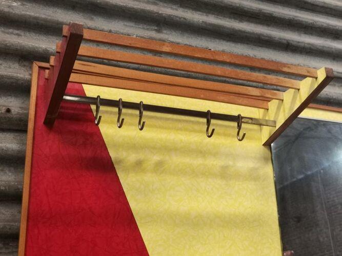 Wall coat rack Drevokov 1960