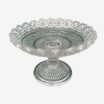 Candy cup molded glass pressed