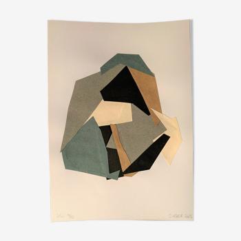 Collage série gris 10/10