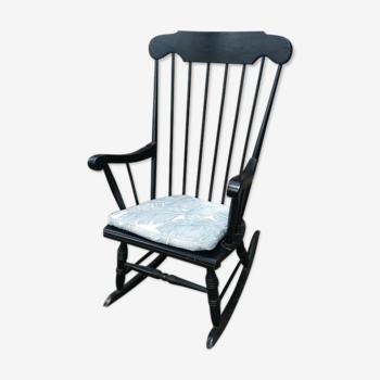 Fauteuil à bascule rocking chair vintage