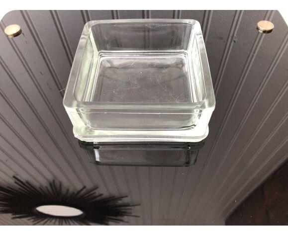 Cendrier pavé de verre
