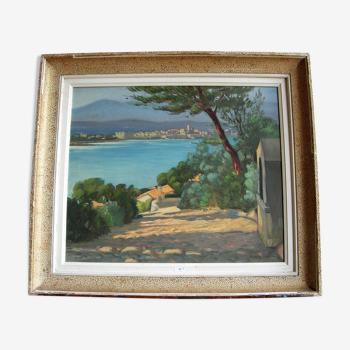 Paysage méditerranéen de Claude Pallot
