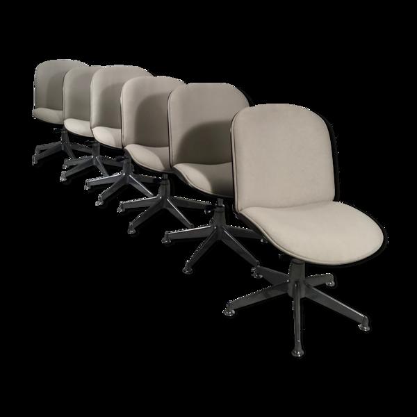 Selency Série de 6 chaises Ico Parisi