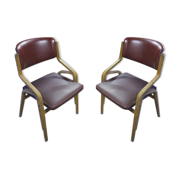 Pair of chairs Brussels style