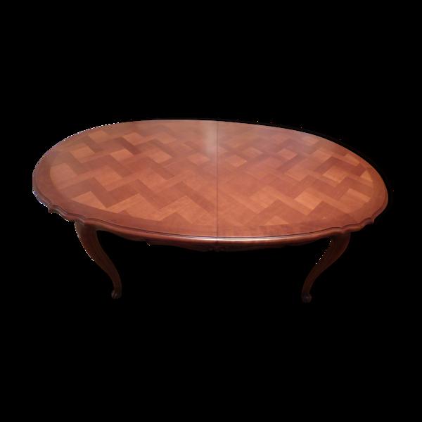 Table ovale régence