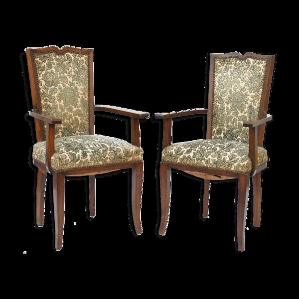 Paire de fauteuils style art deco