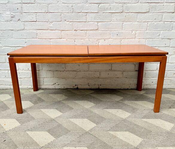 Table basse vintage de teck, Belgique