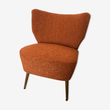 Vintage cocktail armchair 70