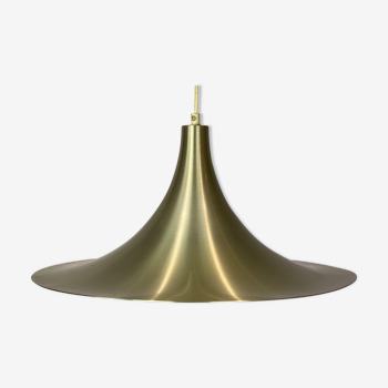 Gubi Semi pendant of brass designed by Claus Bonderup and Thorsten Thorup in 1968