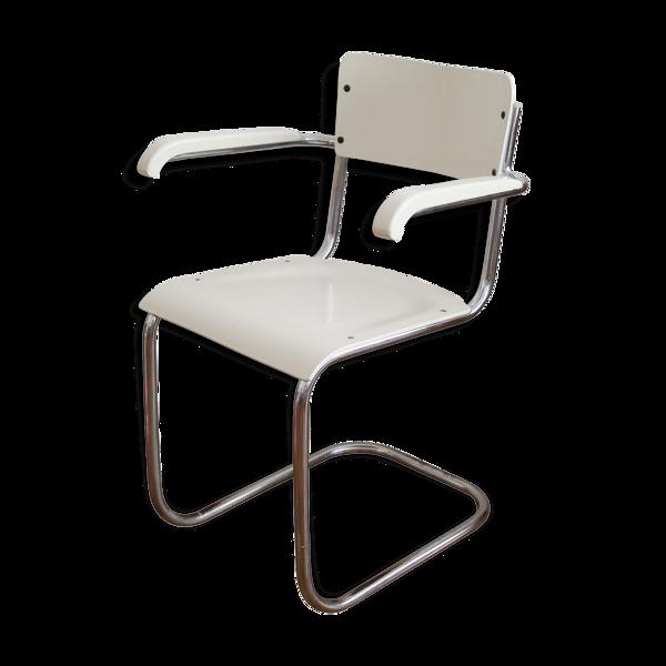 Selency Chaise tubulaire moderniste des années 1930