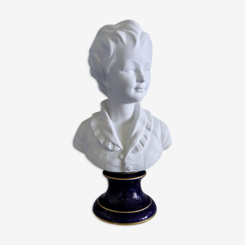 Buste en biscuit d'Alexandre Brongniart par Camille Tharaud