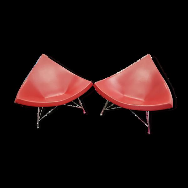 Coconut chair par Geroge Nelson
