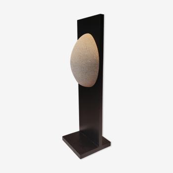 Lampe fibre de verre minimaliste 1970s
