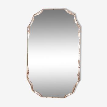 Miroir biseauté années 30 33x56cm
