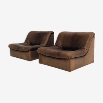 Ensemble de sièges DS46 De Sede en cuir